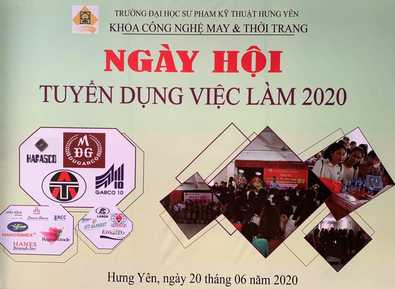 Thông báo về việc tổ chức Ngày hội tư vấn và tuyển dụng việc làm năm 2020