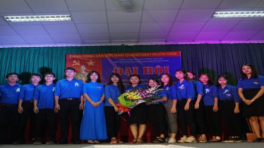 Đại hội đại biểu Đoàn TNCS Hồ Chí Minh khoa CN May & Thời trang nhiệm kỳ 2019-2022
